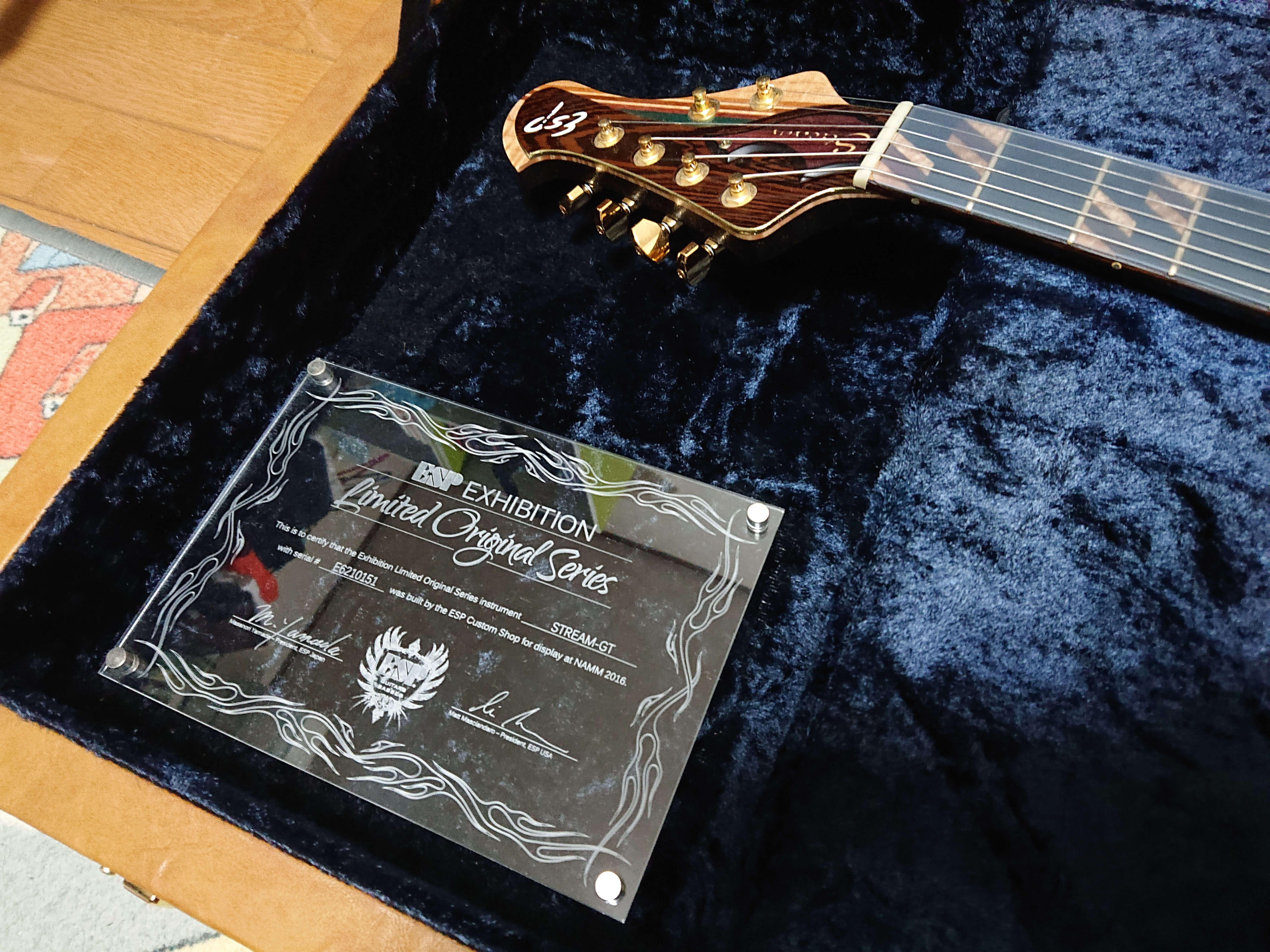 ESP Exhibition Limited 2016 / STREAM-GT