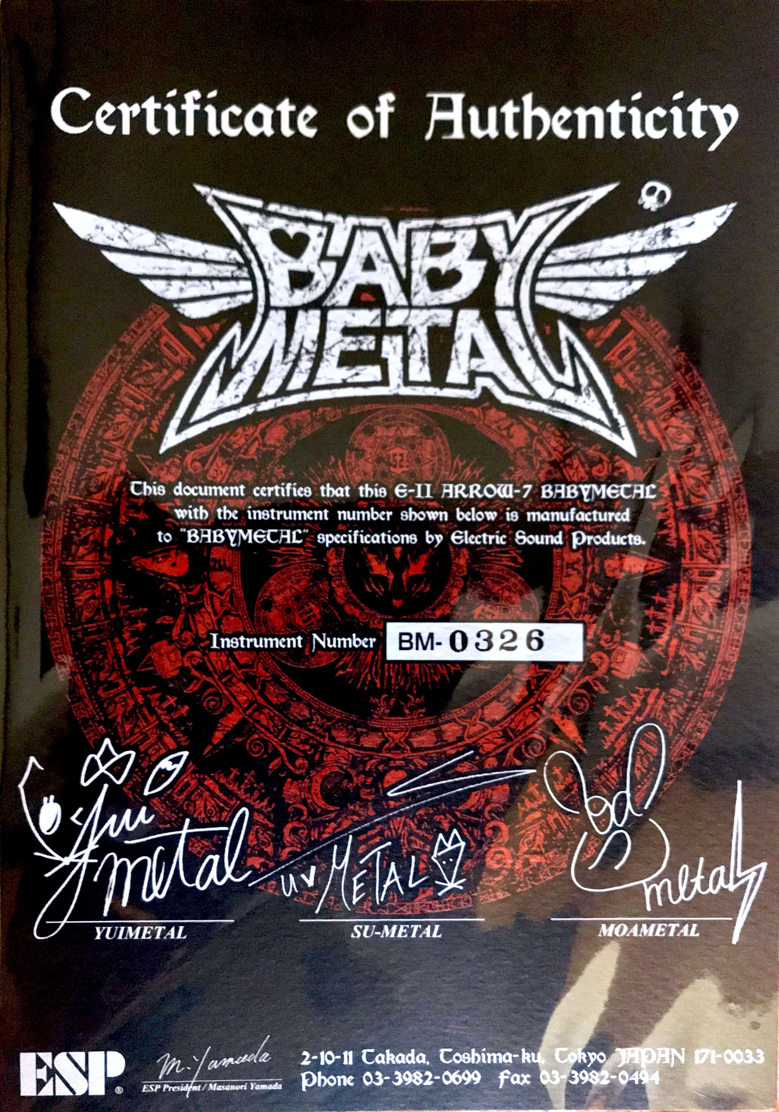 E-II ARROW-7 BABYMETAL