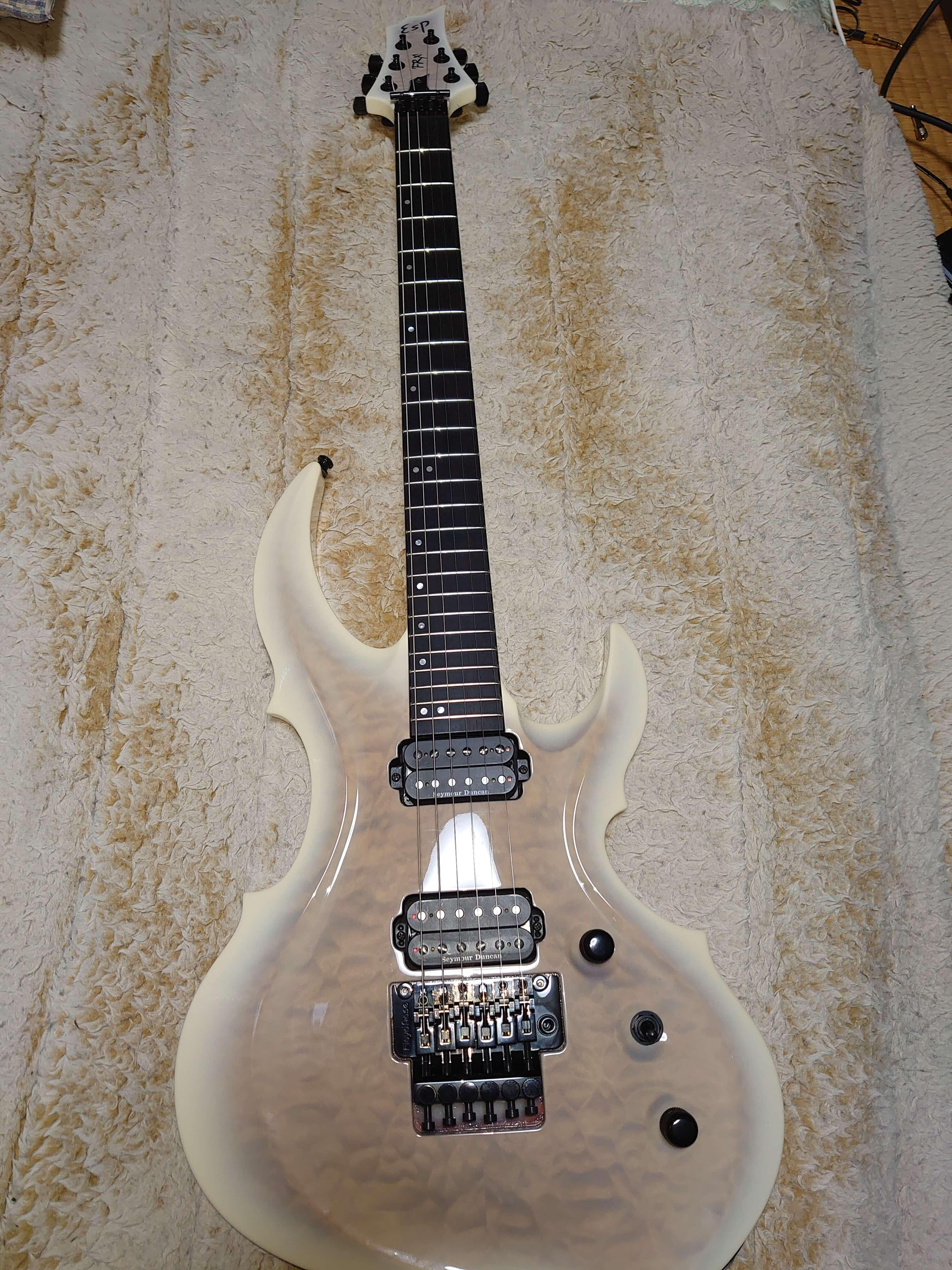 中学時代からの憧れギターを手に入りました。
